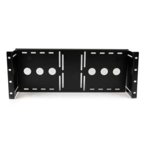 Universal VESA LCD Monitor Mounting Bracket for 19in Rack or Cabinet